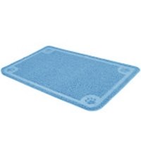 Petmate Litter Catcher Mat large Ice Blue