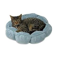 """Petmate Round Puffy Cat Bed 18"""""""