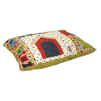 Petmate 27X36 Knife Edge Pillow Bed Quilt