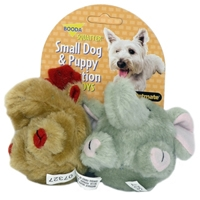 Aspen Pet Booda Puppy & Small Dog Two Pack Squatters  Moose/Elephant