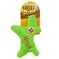 Aspen Pet Tuff Plush Cookie Cutter - Small Woof