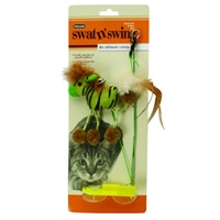 Aspen Pet Swat 'N Swing Horse Cat Toy