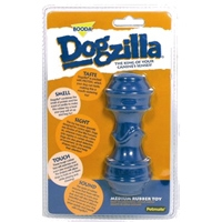 Aspen Pet Dogzilla Rubber Toy Dumbell Medium