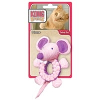 Kong Cat BraidZ Round Mouse Catnip Toy