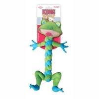 Kong Medium BraidZ Frog