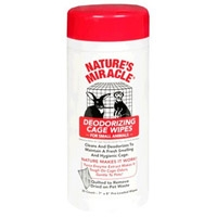 Nature's Miracle Small Animal Cage Wipes