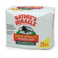 Nature's Miracle Quick Results Training Pad 14 ct