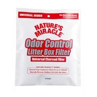 Nature's Miracle, Odor Control Universal Charcoal Filter 2PK