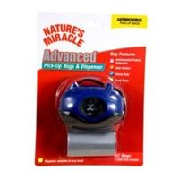 Nature's Miracle, Advanced Pick Up Bags & Oval Blue Dispenser