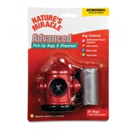 Nature's Miracle, Advanced Red Fire Hydrant Dispenser & Pick Up Bags