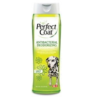 8in1 Perfect Coat Select Antibacterial Shampoo 16 oz.
