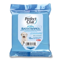 8in1 Puppy Bath WIpes 12 Count