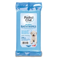 8in1 Puppy Bath Wipes 24 Count