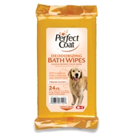 8in1 Dog Deodorizing Bath Wipes 24 Count