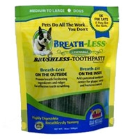 Ark Naturals Breath-less Chewable Brushless Toothpaste Medium/Large 18 Ct