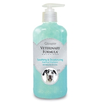 Synergy Labs Veterinary Formula Solutions Soothing & Deoderizing Oatmeal Shampoo 17 Oz