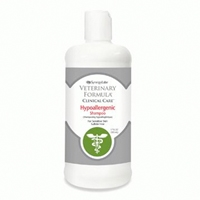Synergy Labs Veterinary Formula Clinical Care Hypoallergenic Shampoo for Sensitive Skin - Sulfate Free - 17 oz.