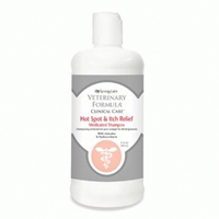 Synergy Labs Veterinary Formula Clinical Care Hot Spot & Itch Relief Medicated Shampoo with Lidocaine, Hydrocortisone &am