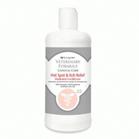 Synergy Labs Veterinary Formula Clinical Care Hot Spot & Itch Relief Medicated Conditioner with Lidocaine, Hydrocortisone