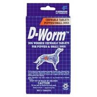 Farnam/Adams D-Worm Chew Tabs