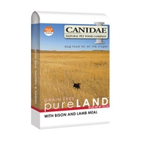 Canidae Pure Land Bison/Lamb Meal 15lb