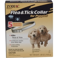 Zodiac Z-206 Flea & Tick Collar Puppy 5 Month