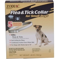 Zodiac Z-14 Flea & Tick Collar Small Dog 5 Months