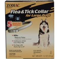Zodiac Z-41 Flea & Tick Collar Large Dog 5 Month