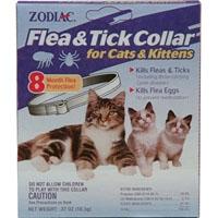 Zodiac Flea & Tick Collar Cat/Kitten 8 Month