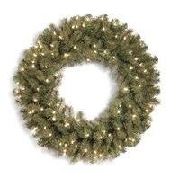 Douglas Fir Prelit Wreath