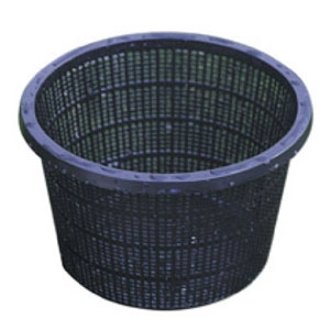 Beckett Corp Round plant basket for aquatic plants