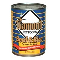 Diamond Beef & Rice Dog 24/13 oz. Cans