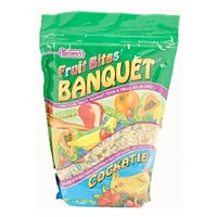 F.M. Brown's Fruit Bites Banquet Food Cockatiel 2 lb.