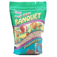 F.M. Brown's Fruit Bites Banquet Food Parakeet 2 lb.