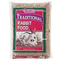 F.M. Brown's Traditional Plus Rabbit Pellets 6/5 lb.