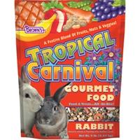 F.M. Brown's  Tropical Carnival Rabbit 6/3 lb.