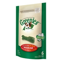Greenies® Mini Treat Pack 6oz Regular 6 Count