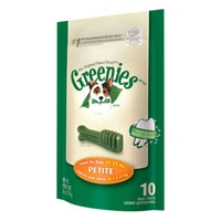 Greenies® Mini Treat Pack 6oz Petite 10 Count