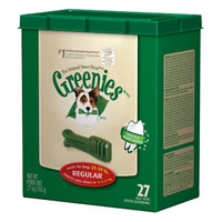 Greenies® Tub Treat Pack 27oz Regular 27 Count