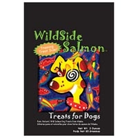 Wild Side Salmon Regular Dog Treat 3 oz.