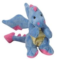 GoDog Mini Dragon Periwrinkle Blue with Chew Guard