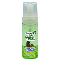 Tropiclean Fresh Breath Mint Foam 4.5 oz.