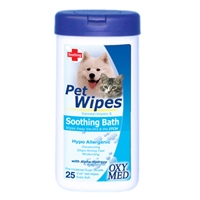 Tropiclean Oxy-Med Soothing Wipe 8 oz.