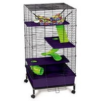 Super Pet My Deluxe Home Multi-Floor W/Stand
