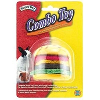 Super Pet SP Combo Toy CriSPy & Wood Hamburger