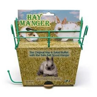 Super Pet Hay Manger w/ Salt Hanger