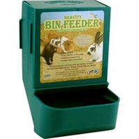 Super Pet Gravity Bin Feeder W/ Bracket Assorted