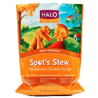 Halo Spot's Stew Wholesome Chicken Puppy Formula Dog Food