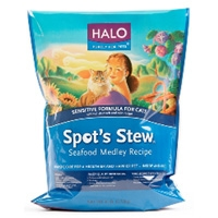 Halo Spot's Stew Sensitive Cat Seafood Medley 4/6 lb.