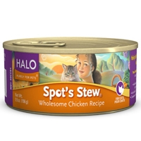 Halo Spot's Stew For Cats Wholesome Chicken 12/5.5 oz.